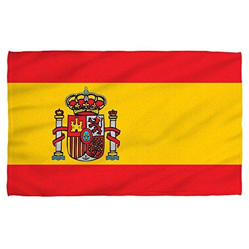 Spain Badetuch für Strand, Pool, spanische Flagge, 140 x 70 cm, Mikrofaser