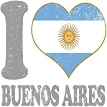 I Love Buenos Aires: Argentina Notebook Composition Note Book Argentinian Flag Pride College Ruled Paper Softcover Journal