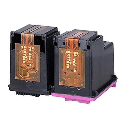 befon 300XL - Cartuchos de tinta remanufacturados para impresora HP 300 XL color negro (2 unidades, compatibles con HP Deskjet D1660, D2560 D2660, D5560, F2420, F2480, F2492 y F4210)