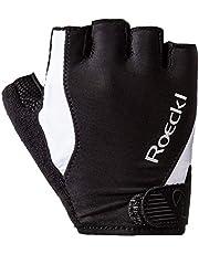 Roeckl Basel fietshandschoenen kort zwart/wit 2020