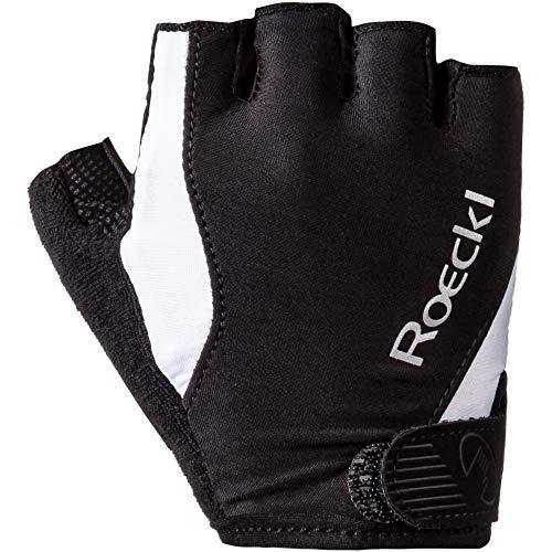 Roeckl Basel Fahrrad Handschuhe kurz schwarz/weiß 2020: Größe: 8