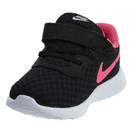 Nike Tanjun (TDV), Scarpe da Ginnastica Basse, Unisex – Bimbi, Nero (Nero/Hyper Pink/Bianco 061), 22 EU