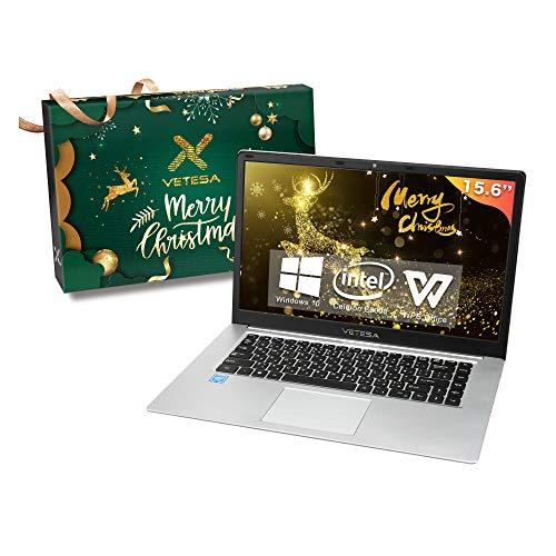 2020年クリスマス限定モデル テレワーク応援 初心者向け 15.6インチ 大画面高性能ノートパソコン CPU:インテル N3350/E8000 1.6GHz メモリ:4GB 高速SSD搭載 外付けDVD付属【Win 10搭載】【MS Office搭載】/Webカメラ/無線搭載/軽量薄型laptop RE-80CH (SSD:180GB)