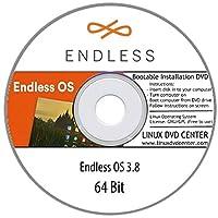 Endless OS 3.8 Basic Live (64Bit) - Bootable Linux Installation DVD