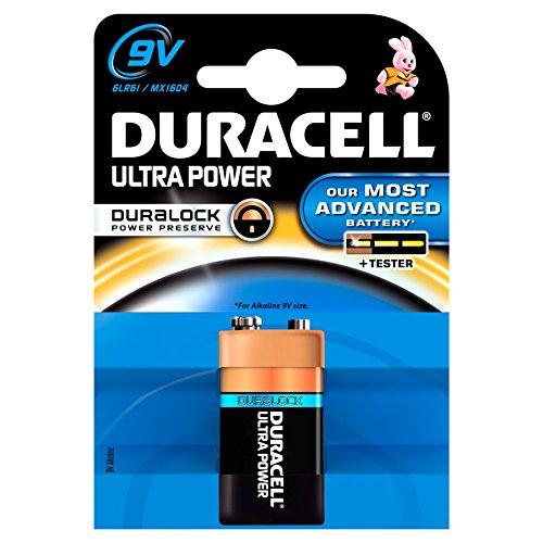 10Stück Duracell Batterien Ultra Power MX16049V 6LR611Stück in Blisterverpackung
