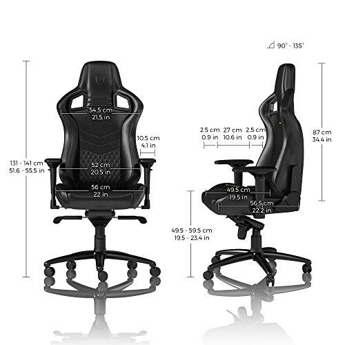 eSport Nappaleder Gaming Stuhl noblechairs EPIC Bild 2*