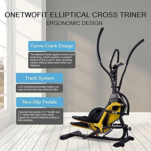 ONETWOFIT Crosstrainer Eleganse-5