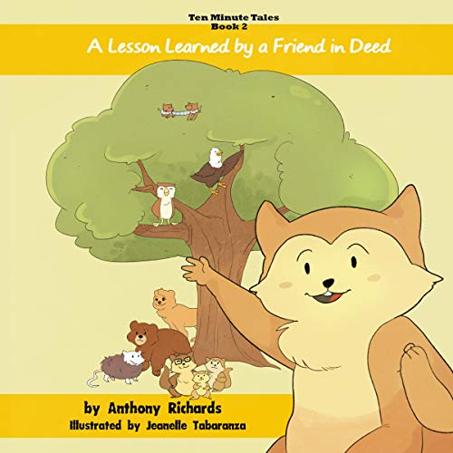 A Lesson Learned by a Friend in Deed audiobook cover art