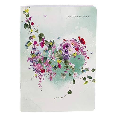 Clairefontaine 83368C - Un carnet mot de passe Tropical Dream 14,8 x 21 cm, 32 pages imprimées, couverture motif aléatoire