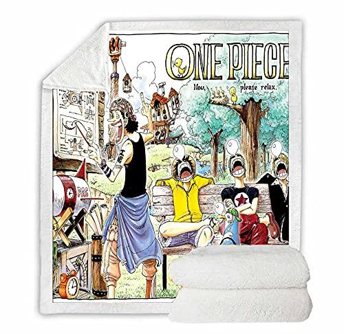 One Piece Anime Decke Mädchen Jungen...