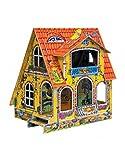 CLEVER PAPER- Puzzles 3D Casa de muñecas Infantil (14028)