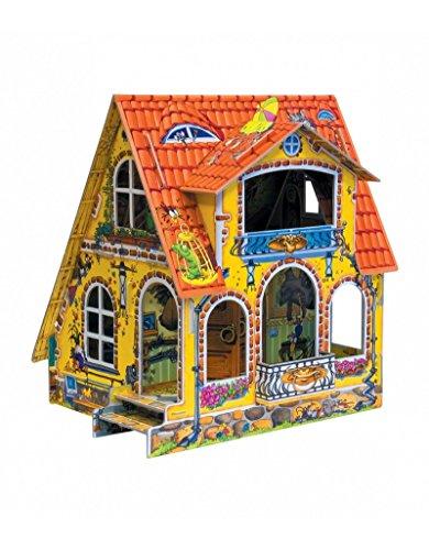 CLEVER PAPER  Puzzles 3D Casa de muñecas Infantil (14028)