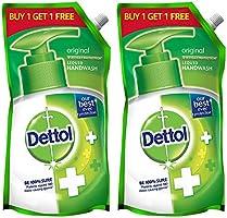 Dettol Original Germ Protection Handwash Liquid Soap Refill, 750 ml, Buy 1 Get 1 Free