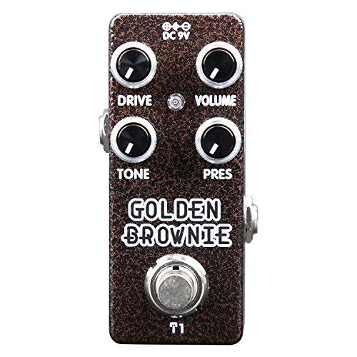 Distortion Pedal,Mini Guitar Effect Pedal Vintage High Gain Metal Distortion Multi-effects Pedal True Bypass