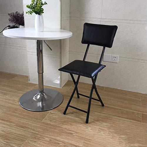 WGXX stoel Gestoffeerde klapstoel, stevig stalen frame, Japanse stijl multifunctionele ligstoel, gast, bezoeker en conferentie stoel, home dining chair Milieuvriendelijk