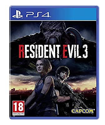 Resident Evil 3 with Stickers (Exclusive to Amazon.co.UK) (PS4)