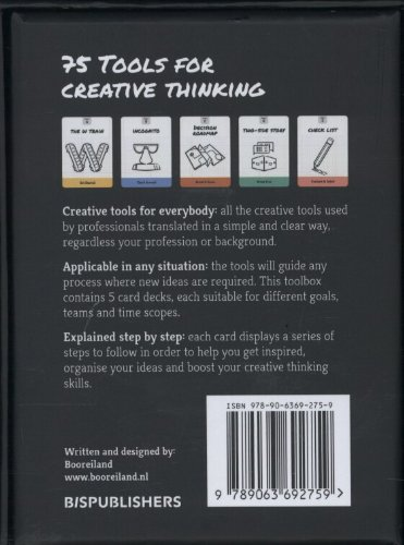75 Tools for Creative Thinking: A Fun Card Deck for Creative Inspiration