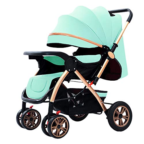 For Sale! WYANAN Baby Stroller Multifunctional High Landscape Stroller Baby Buggy Baby Pram Newborn ...