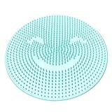 MongKok Silicone Bath Massage Cushion Brush Anti-Slip for Lazy Wash Feet Clean Dead Skin Bathroom -