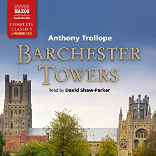 Barchester Towers, Book 2 audiobook cover art