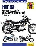 Honda CMX250 Rebel & CB250 Nighthawk Twins (85 - 16) Haynes Repair Manual