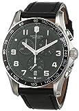 Victorinox 241651 - Reloj, Correa de Cuero Color Negro