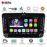 [para Volkswagen/VW] ATOTO A6 Pro A6YVW721PRB Car Audio/Navegación de Video Doble DIN Android 2X Bluetooth con aptX - Cargar teléfono móvil/Ultra Preamp - Radio para Autos, Multimedia, WiFi y más