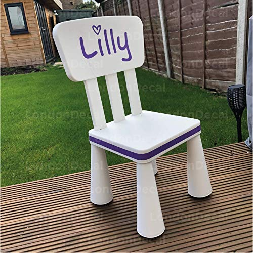 Adhesivo de pared de vinilo extraíble para silla infantil IKEA