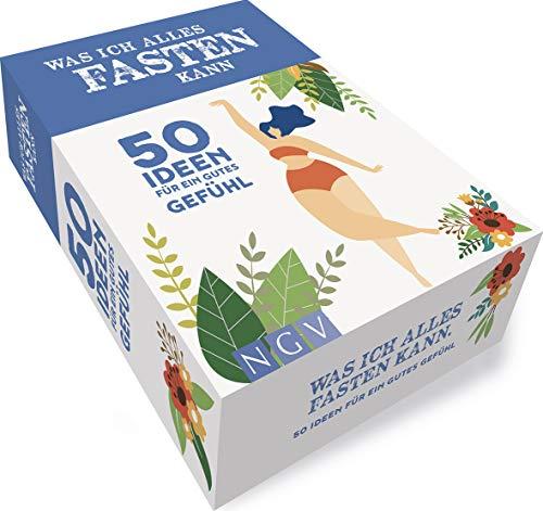 Was ich alles fasten kann: Box mit 50 Ideen für ein gutes Gefühl