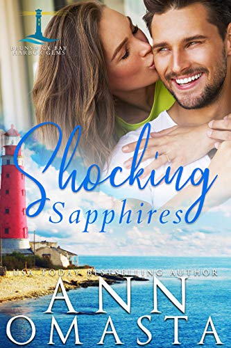 Shocking Sapphires: An opposites-attract small-town girl and celebrity romance (Brunswick Bay Harbor Gems Book 5) (English Edition)