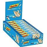 Powerbar Barritas Proteinas con Bajo Nivel de Azucar Sabor Chocolate Blanco Coco - 18 Barras