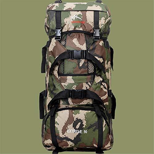 Texan Big Camping Backpack Trekking Rucksacks Hiking Backpack Outdoor Sports Army Fan Nylon Backpack Climbing Molle Backpack 70L