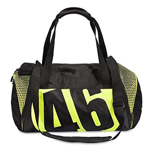 """VR46, borsa da palestra""""Valentino Rossi"""", modello Endurance Ogio, colore nero/verde"""