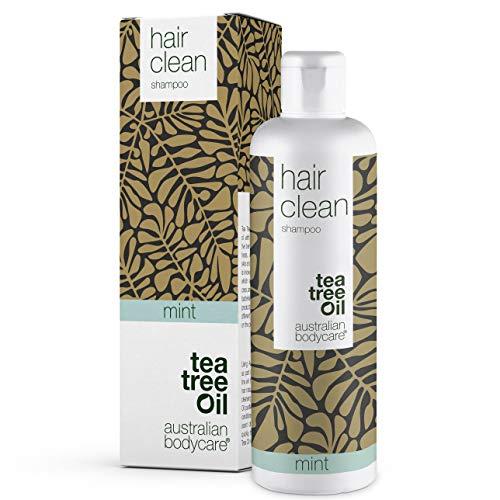 Australian Bodycare Champú Tea Tree Oil para cabello seco 250ml | Aceite de árbol de té y Menta | Anticaspa, Anti-picazón | Cuidado del cuero cabelludo para psoriasis, eczema, neurodermatitis y Granos