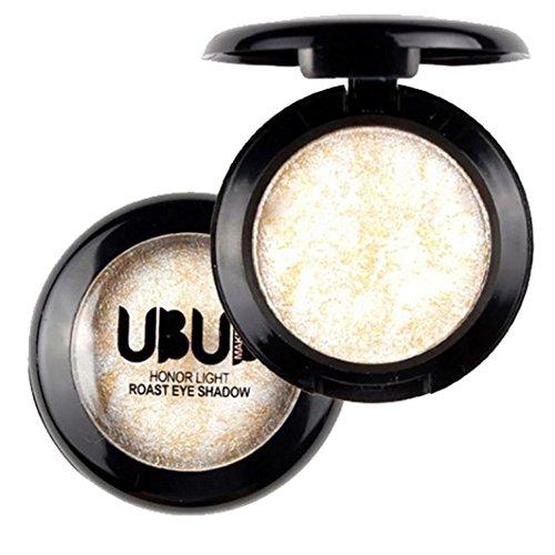 UBUB Palette de poudre d'ombre d'oeil au four simple scintillement