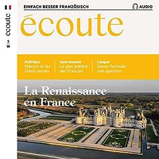 Écoute Audio - La Renaissance en France. 5/2019     Französisch lernen Audio - Die Renaissance in Frankreich              Autor:                                                                                                                                 div.                               Sprecher:                                                                                                                                 div.                      Spieldauer: 1 Std. und 4 Min.     Noch nicht bewertet     Gesamt 0,0