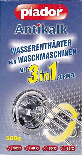 Antikalk Pidor Wasserenthärter für Waschmaschinen 3 in 1 - 500 g