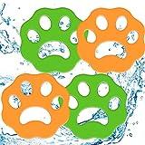 TONGDA 4 Piezas Depiladora de Mascotas,Atrapa Pelos Lavadora,Quitapelos Mascotas,Filtros de Pelusa de Reutilizables para Pelo de Perro,Piel de Gato y Todas Las Mascotas.