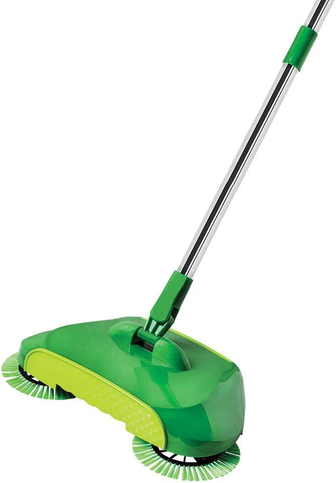 Green Spiral Max 61% OFF Sweep Broom All items in the store Push