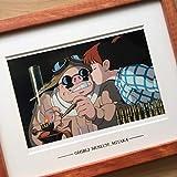 正規ジブリ美術館 「紅の豚」額装 (検 ポスター ポストカードセル画 宮崎駿 ジブリ