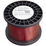日工タナカ スペアナイロンコード100m SC100 赤