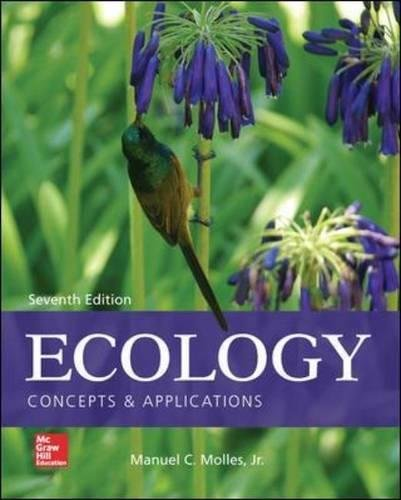 Compare Textbook Prices for Ecology: Concepts and Applications 7 Edition ISBN 9780077837280 by Molles, Manuel
