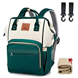 Multi-Functional Diaper Bag Backpack with Changing Pad Waterproof Nappy Bag