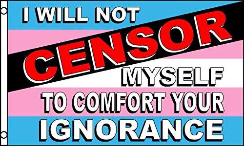 AZ FLAG Flagge Transgender EINE ZENSUR 150x90cm - INTERSEXUELLE Fahne 90 x 150 cm - flaggen Top Qualität