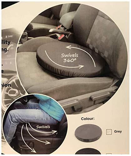 Hendem Rotating Car Seat Swivel Cushion Mobility Aid Movingparts Memory Foam