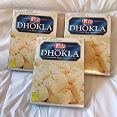 Ready in 3 easy steps! Makes 40 khatta Dhoklas per package.