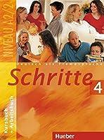 Schritte: Kurs- und Arbeitsbuch 4