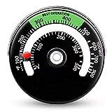 biteatey Termómetro de chimenea para el hogar, termómetro de cocina de alta precisión, bimetálico.