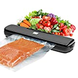 Swiftion Vacuum Sealer Machine, Automatic Food Sealer for Food Savers, 5 Food Modes with Low Noise, Seperated Design Easy to Clean Vacuum Sealer