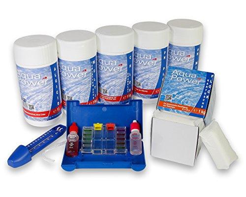 Paradies Pool GmbH Wasserpflege-Grundausstattungsset 6,5kg (E271)